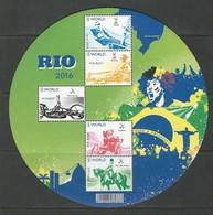 Belgique: BF 243 ** Jeux Ol. & Paralympiques 2016 à Rio - Blokken 1962-....