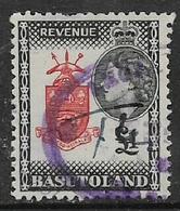 Basutoland, EIIR, 1953, Revenue Stamp, £1, Used - Basutoland (1933-1966)