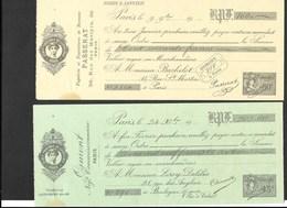 Timbres Fiscaux Fiscal Revenue Cours D'instruction (cote 60€) - Revenue Stamps