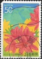JAPAN (CHIBA PREFECTURE) 2004 Flowers Of Kanto - 50y - Japanese Azalea And Mt. Akagisan FU - 1989-... Empereur Akihito (Ere Heisei)