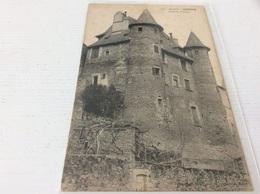 19 - UZERCHE Château Pontier écrite - Uzerche