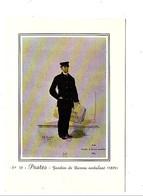 POSTES - GARDIEN DE BUREAU AMBULANT 1889 - Postal Services