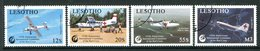 Lesotho 1989 125th Anniversary Of Red Cross Set Used (SG 862-865) - Lesotho (1966-...)