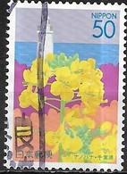 JAPAN (CHIBA PREFECTURE) 2004 Flowers Of Kanto - 50y - Rape Blossom And Nojimazaki Lighthouse FU - 1989-... Empereur Akihito (Ere Heisei)