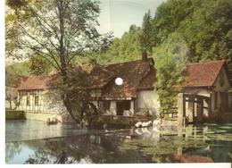 Musical 45rpm Record Postcard Schallbildkarte Blaubeuren Wassermuhle Blautopf Ich Weiss Was Dir Fehlt Gaze Gietz Feltz - Vinyl Records