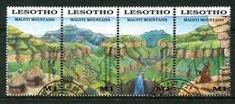 Lesotho 1989 Maloti Mountains Set Used (SG 905-908) - Lesotho (1966-...)