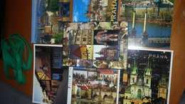 LOTTO 7 CARTOLINE PRAGA NUOVE NON VIAGGIATE - Cartoline
