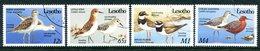 Lesotho 1989 Migrant Birds Set Used (SG 910-913) - Lesotho (1966-...)