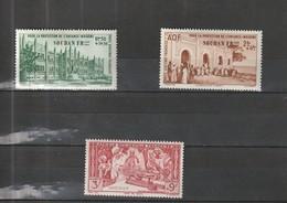 Soudan Neuf *  1942 Poste Aérienne  N° 6/8  Protection De L'enfance Indigène - Soudan (1894-1902)