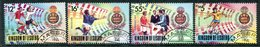 Lesotho 1989 Football World Cup, Italy Set Used (SG 942-945) - Lesotho (1966-...)