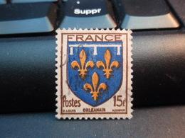 FRANCE, 1944  ARMOIRIES ORLEANAIS - 1941-66 Armoiries Et Blasons