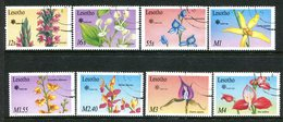 Lesotho 1990 EXPO '90 - Local Orchids Set Used (SG 958-965) - Lesotho (1966-...)