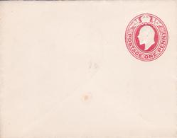 Entier  Postal Stationery - Grande-Bretagne - One Penny Rouge Embossed - Enveloppe Petit Format - Interi Postali