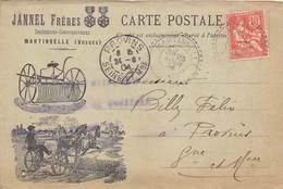88-MARTINVELLE- JANNEL FRERES- CORRESPONDANCE - France
