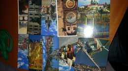 LOTTO 10 CARTOLINE PRAGA E ALTRI NUOVE NON VIAGGIATE - Cartoline