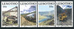 Lesotho 1990 Highlands Water Project Set Used (SG 976-979) - Lesotho (1966-...)