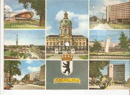 Old Musical 45rpm Record Postcard Schallbildkarte Ma-Ma Konrad Misselvia BERLIN Funkturm Denkmal Schloss Kongresshalle - Unclassified