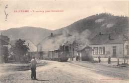 88-SAINT-DIE- TRAMWAY POUR GERARDMER - Saint Die