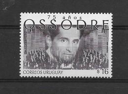 URUGUAY 2006, OSSODRE, MUSIC ORCHESTRA, 1 VALUE, MNH - Uruguay