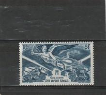 Côe Des Somalis Neuf *  1946  Poste Aérienne N° 13  Anniversaire De La Victoire - Ongebruikt