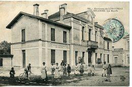 898. CPA 33 CARTE ENTIEREMENT DEDOUBLEE. ENVIRONS DE LIBOURNE. BRANNE LA MAIRIE - France