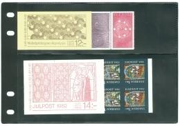 Pochette De 6 Carnets SVERIGE - SUEDE 1982 – BOECKJE / CARNET  YT  C1169 , C1170,  C1178, C1183, C1191, C119 - Carnets