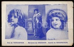 Postcard / ROYALTY / Belgique / België / Baronne De Vaughan / Barones Van Vaughan / Roi Leopold II / Unused - Familles Royales