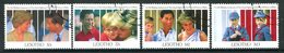 Lesotho 1991 Tenth Wedding Anniversary Of The Prince & Princess Of Wales Set Used (SG 1041-1044) - Lesotho (1966-...)
