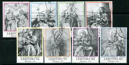 Lesotho 1991 Christmas - Drawings By Durer Set Used (SG 1046-1053) - Lesotho (1966-...)