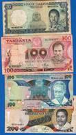 Tanzanie  4  Billets - Tanzanie