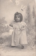 Butterfly Flying Over Girl , 1903 ; TUCK 1319 - Other
