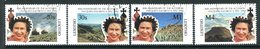 Lesotho 1992 40th Anniversary Of Queen Elizabeth II's Accession Set Used (SG 1084-1087) - Lesotho (1966-...)
