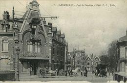 59 LAMBERSART - CANTELEU - PONT DE CANTELEU - CAFE DU COMMERCE - ATTELAGE ( PRIX FIXE !! ) - Lambersart