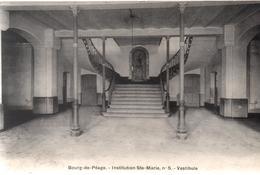 Cpa B69 BOURG DE PEAGE Institution Ste.Marie - Vestibule - Autres Communes