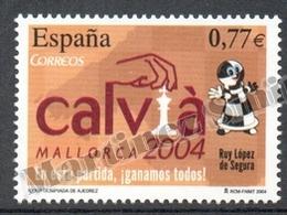 Spain - Espagne 2004 Yvert 3640, 36th Chess Olympics - MNH - 1931-Today: 2nd Rep - ... Juan Carlos I