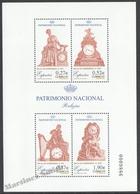 Spain - Espagne 2004 Yvert 3641-44, National Heritage, Clocks - Miniature Sheet - MNH - 1931-Heute: 2. Rep. - ... Juan Carlos I