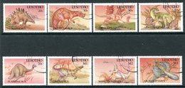 Lesotho 1992 Prehistoric Animals Set Used (SG 1099-1106) - Lesotho (1966-...)