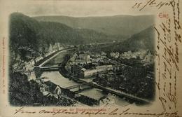 Bad Ems / Prage - AK / Blick Von Der Bismarck Promenade 1901 - Bad Ems