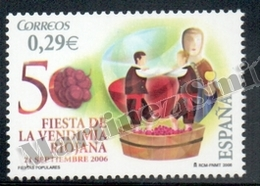 Spain - Espagne 2006 Yvert 3865, Popular Festivals, Grape Harvest In La Rioja - MNH - 1931-Hoy: 2ª República - ... Juan Carlos I