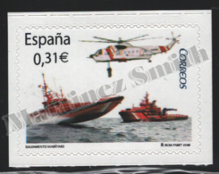 Spain - Espagne 2008 Yvert 4009, Maritime Rescue - MNH - 1931-Hoy: 2ª República - ... Juan Carlos I