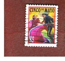 STATI UNITI (U.S.A.) - SG 3594  - 1999   CINCA DE MAYO    - USED - Used Stamps
