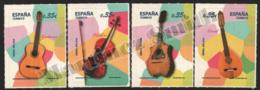 Spain - Espagne 2011 Yvert 4284-87, Musical Instruments - MNH - 1931-Hoy: 2ª República - ... Juan Carlos I