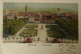 Karlsruhe // Total Ansicht 1902 - Karlsruhe