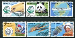 Lesotho 1993 Anniversaries And Events Set Used (SG 1127-1132) - Lesotho (1966-...)