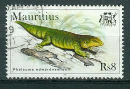 BM Mauritius 1998   MiNr 855   Used   Geckos, Phelsuma Edwardnewtonii - Mauritius (1968-...)