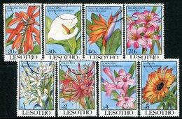 Lesotho 1993 Flowers Set Used (SG 1143-1150) - Lesotho (1966-...)