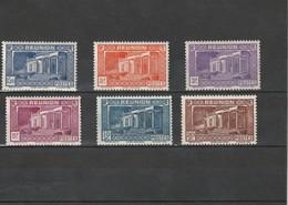 Réunion Neuf *  1933-36  N° 142, 144/148  Musée Léon Deix à Saint Denis - La Isla De La Reunion (1852-1975)