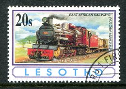 Lesotho 1993 African Railways - 20s Value Used (SG 1164) - Lesotho (1966-...)