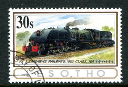 Lesotho 1993 African Railways - 30s Value Used (SG 1165) - Lesotho (1966-...)