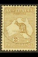 1915  2s Brown Kangaroo, SG 29, Very Fine Used. For More Images, Please Visit Http://www.sandafayre.com/itemdetails.aspx - Australie